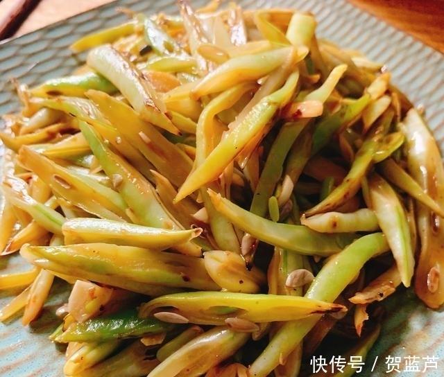 「家常」分享一道家常四季豆的爽口做法,营养美味做法简单,比肉还好吃